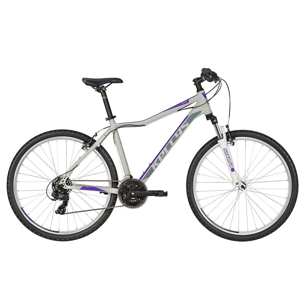 "Dámské horské kolo KELLYS VANITY 10 27,5"" - model 2019 Purple Grey - M (17"") - Záruka 10 let"