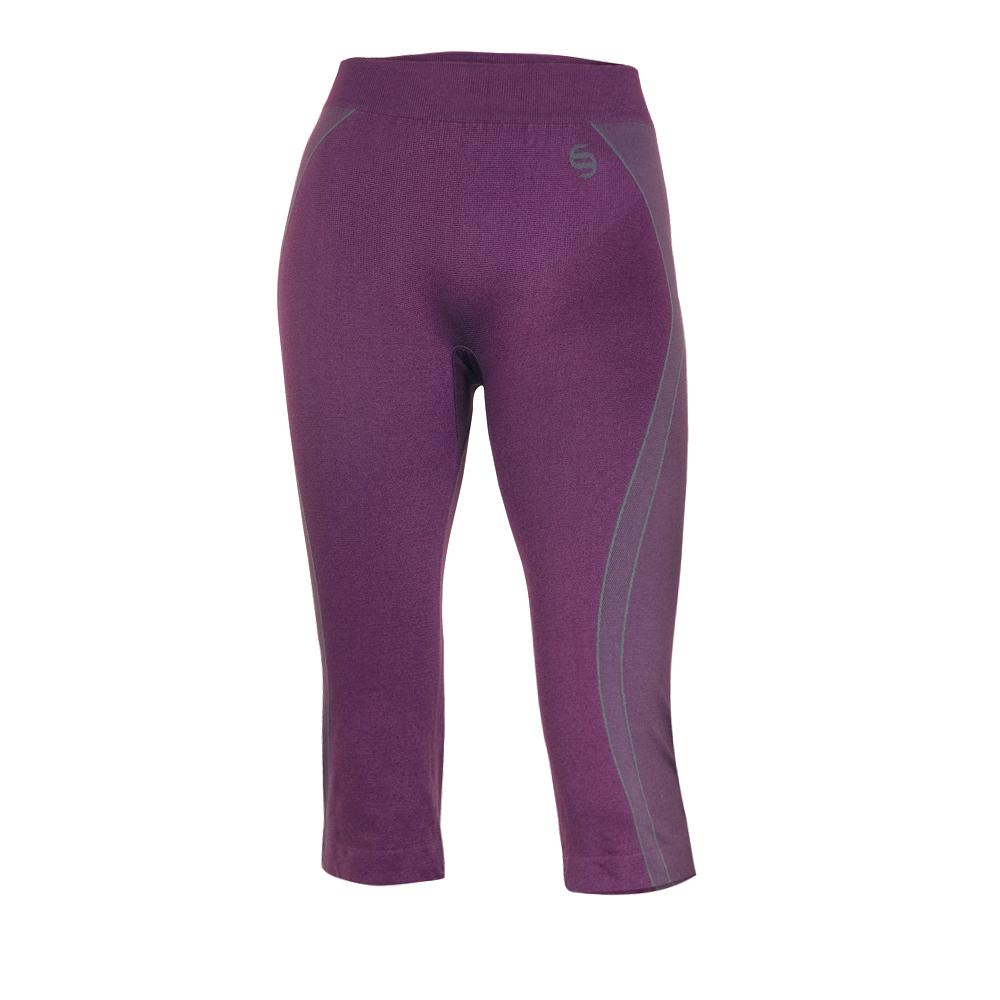 Dámské funkční 2/3 kalhoty Brubeck fialová - S