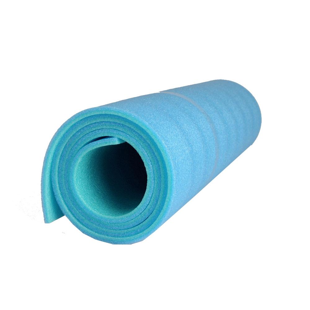 Karimatka Yate Soft Foam 180x50x0,8 cm červeno-modrá
