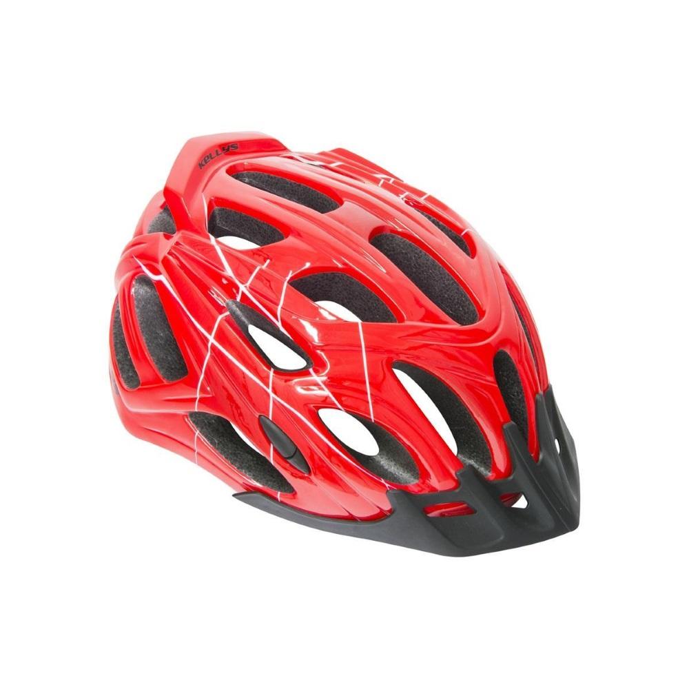 Cyklo přilba Kellys Dare červená - M/L (58-61)