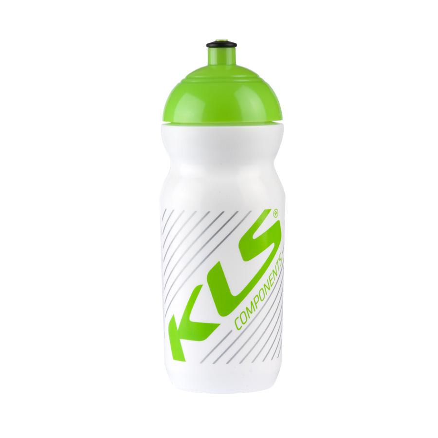 Cyklo láhev KELLYS GOBI 0,5 l bílo-zelená