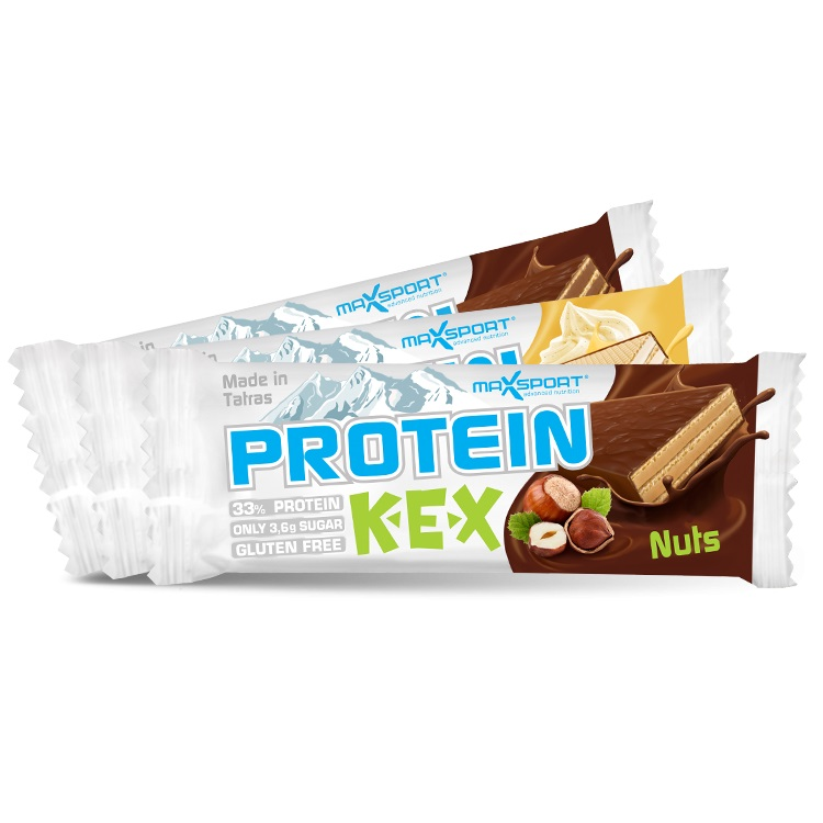 Proteinová oplatka MAX SPORT Protein Kex čokoláda
