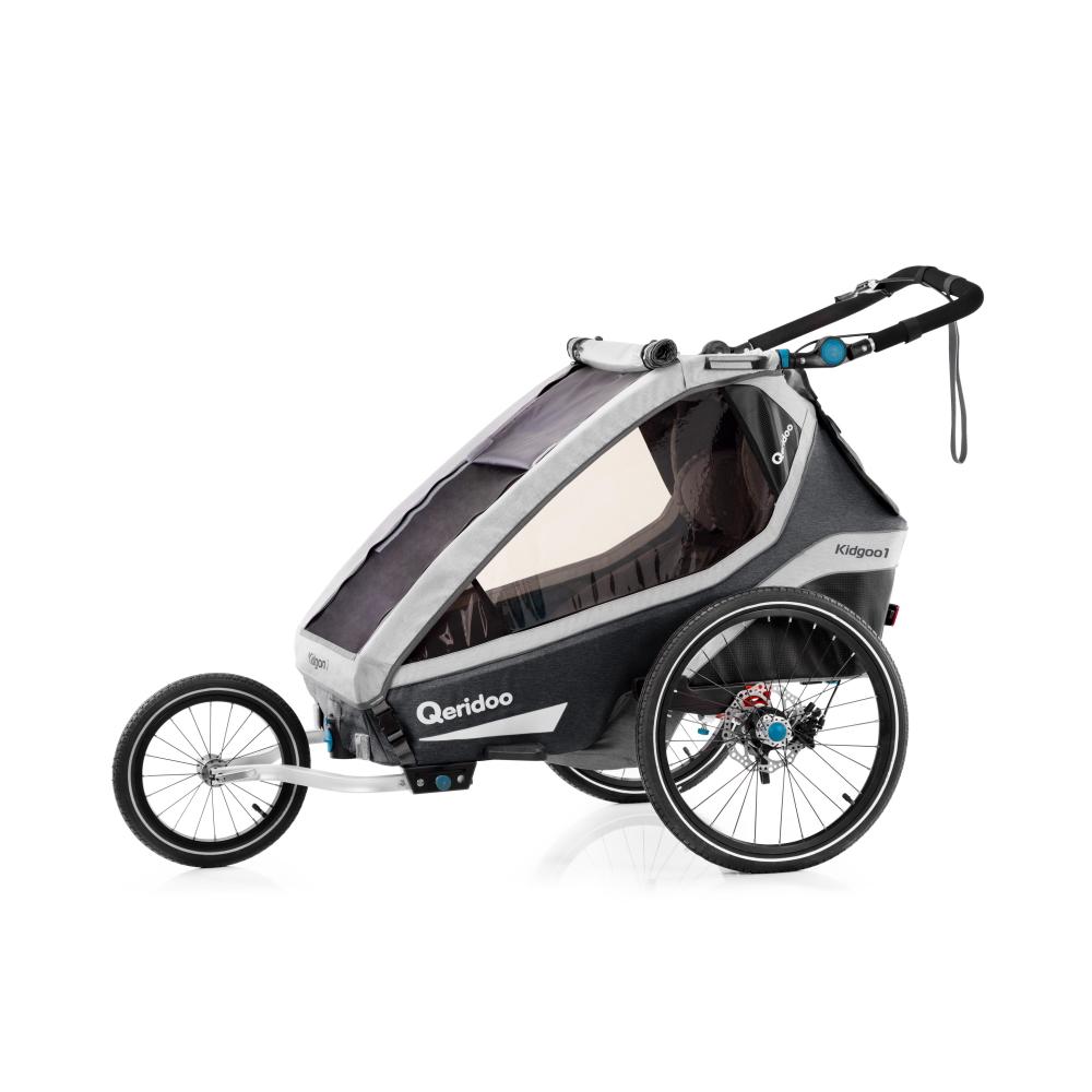 Multifunkční dětský vozík Qeridoo KidGoo 1 Pro  Anthracite Grey