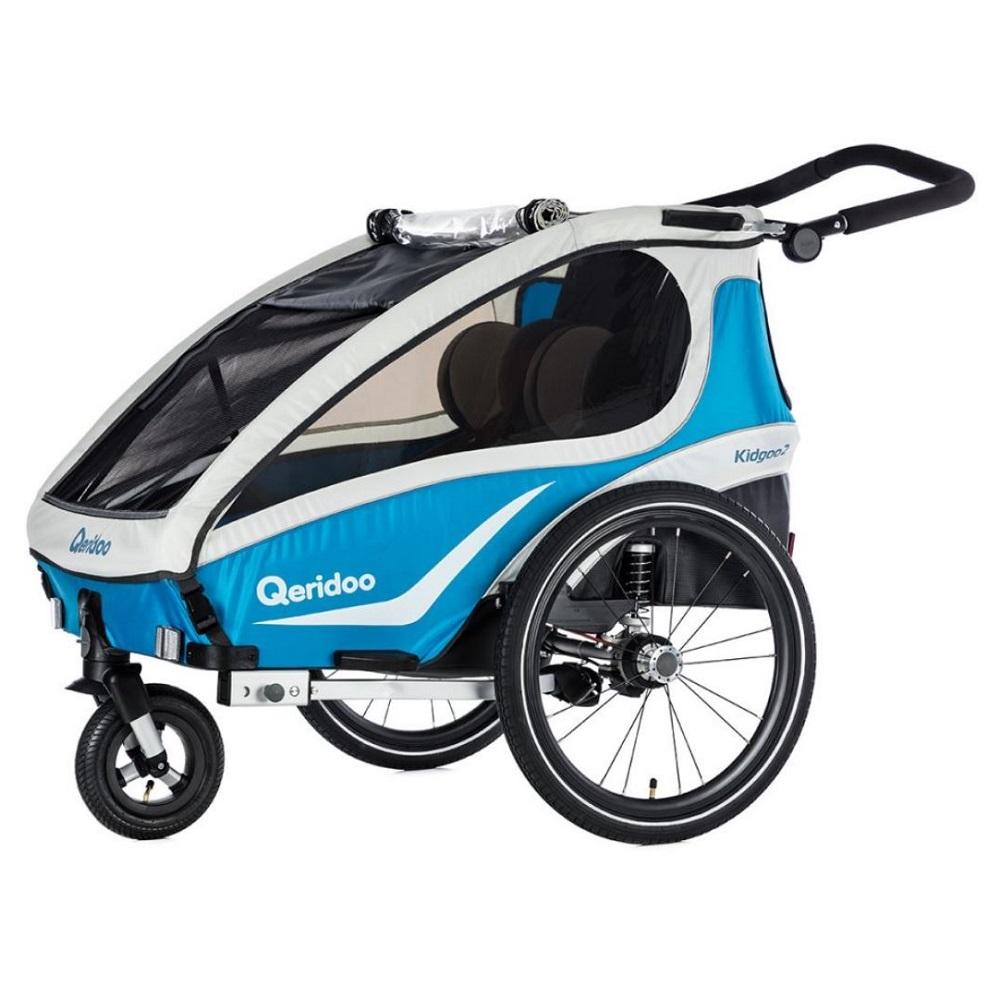Multifunkční dětský vozík Qeridoo KidGoo 2 2018 modrá