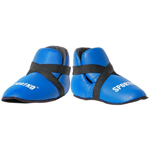 Chrániče nohou SportKO 333 modrá - L