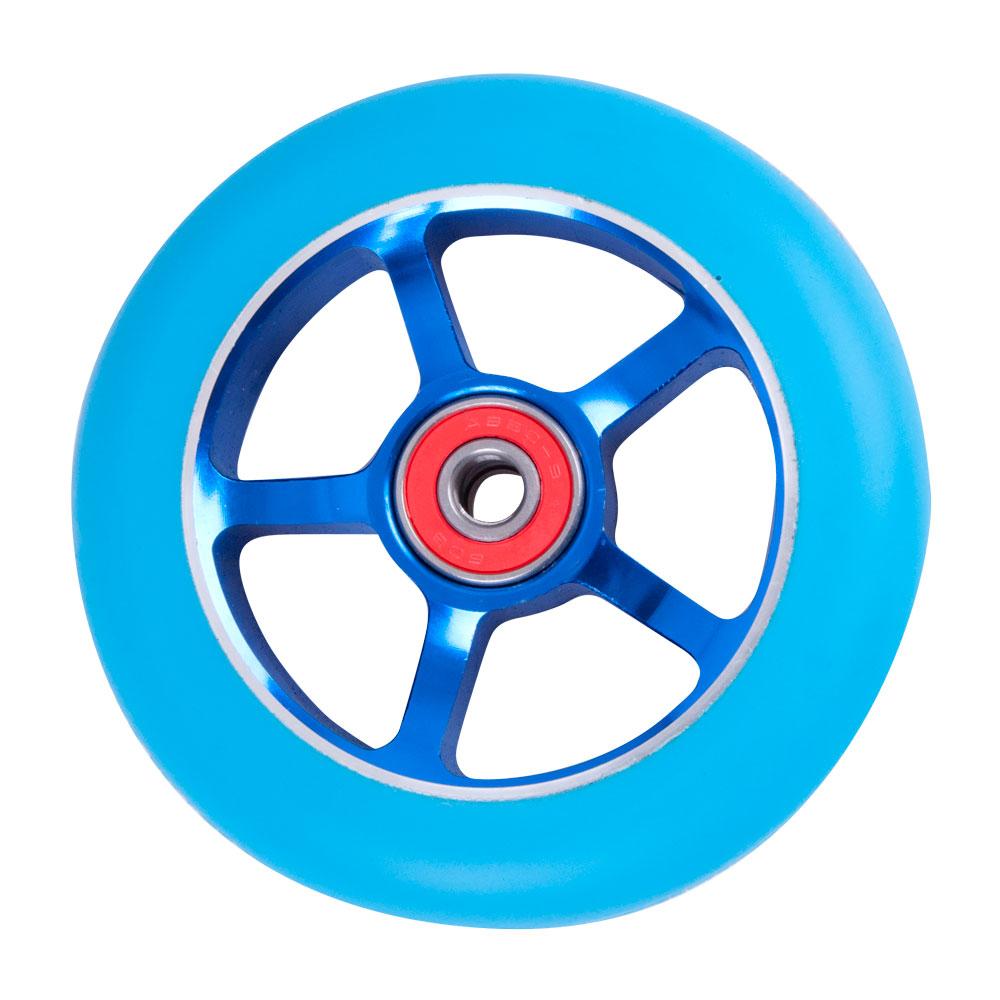 Náhradní kolečko pro koloběžku FOX PRO Raw 100 mm modrá