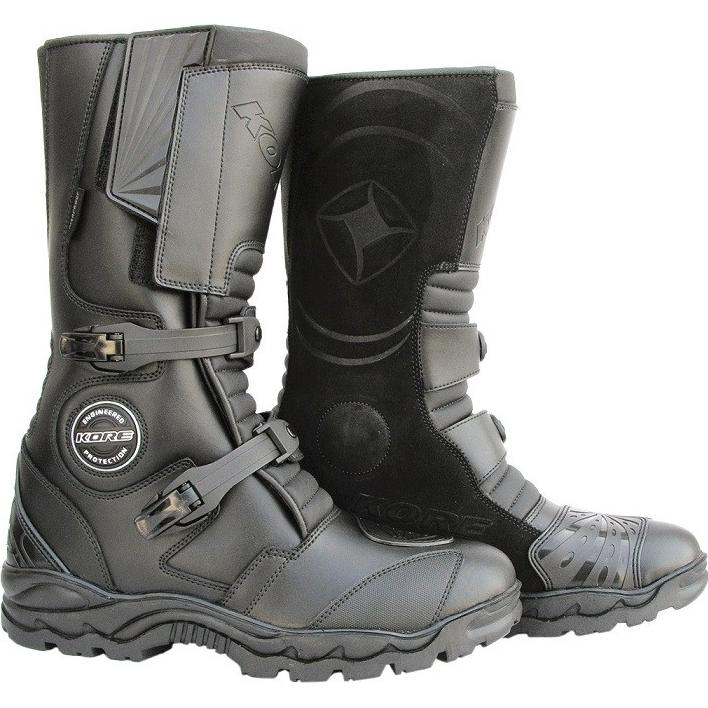 Moto boty KORE Adventure černá - 39