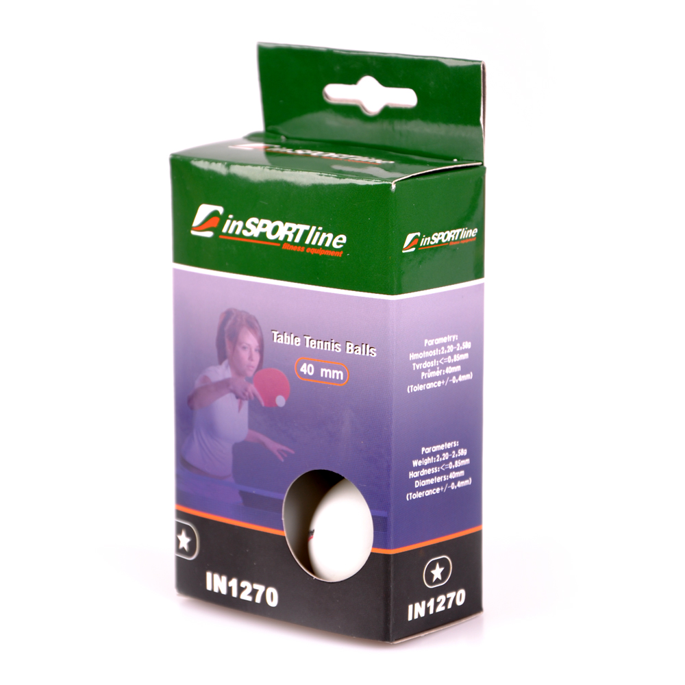 inSPORTline 1 Star Table Tennis Balls