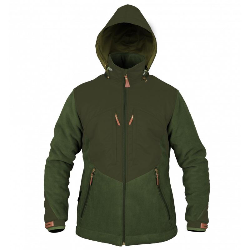 Myslivecká bunda Graff 572-WS olivově zelená - XXL