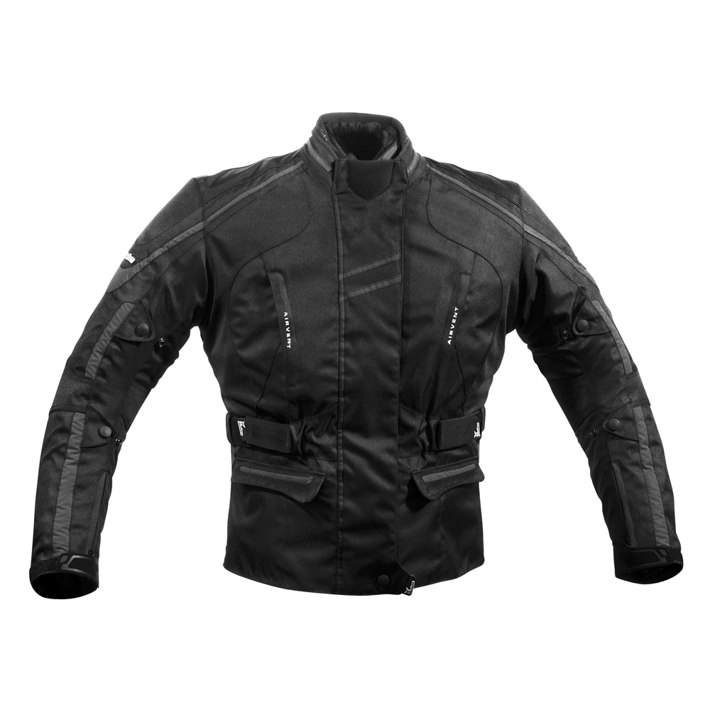 Dámská textilní bunda Rebelhorn GLAM černá - L