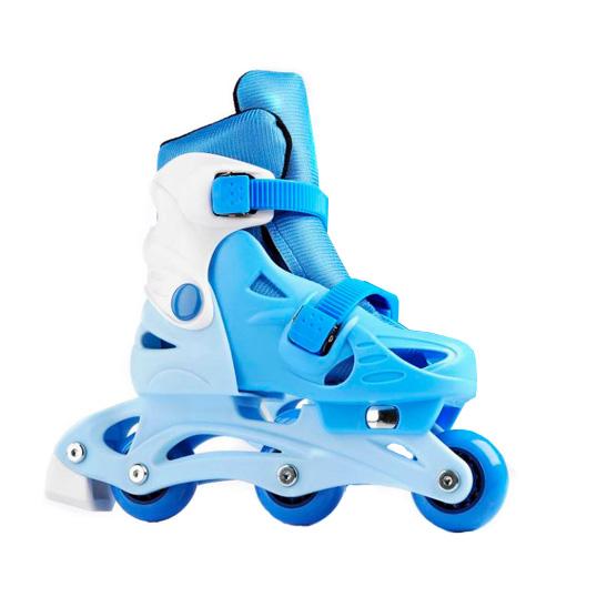 Dětské kolečkové brusle Laubr TriSkate modrá - M (31-34)