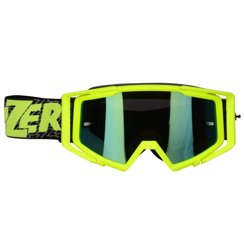 Lazer Race Mirror Yellow-Black-Yellow