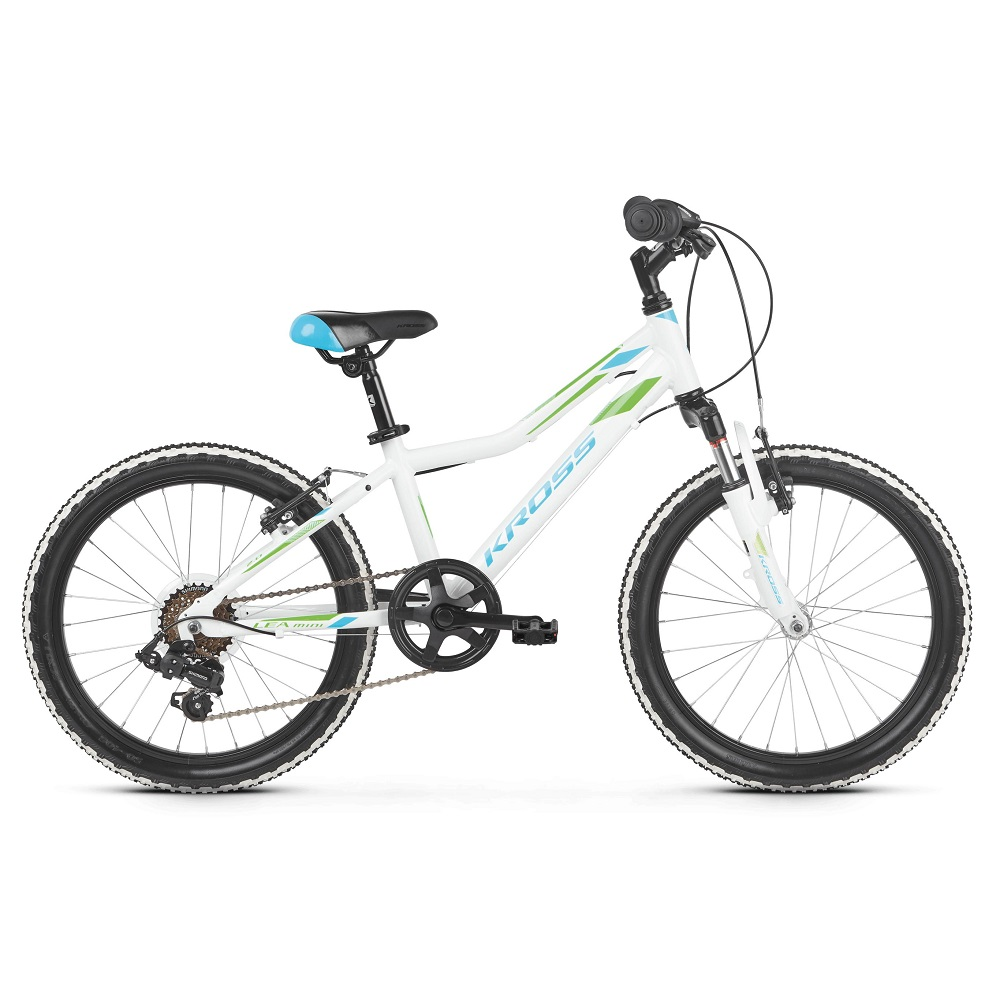 Kross Lea Mini 20 20  model 2019 White  Blue  Green Glossy