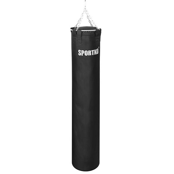Kožený boxovací pytel SportKO Leather 35x200 cm