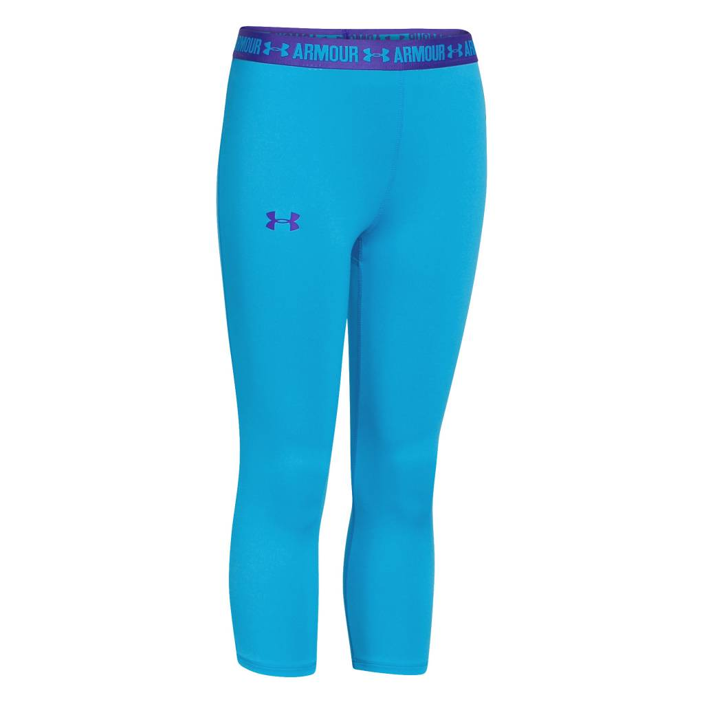 Under Armour Armour Capri Pacific BlueJacksons PurplePacific Blue - YL