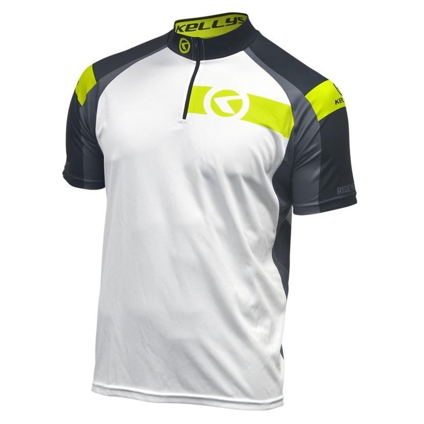 Cyklistický dres Kellys Pro Sport 2017 - krátký rukáv limetková - XL