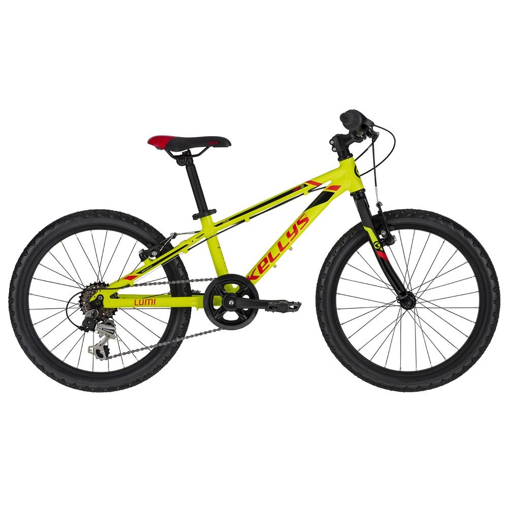 "Dětské kolo KELLYS LUMI 30 20"" - model 2020 Neon Yellow - Záruka 10 let"