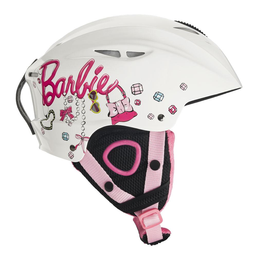 Dětská lyžařská přilba Vision One Barbie - bílá S (48-54)