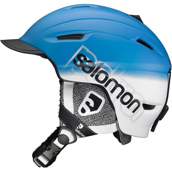 Lyžařská přilba SALOMON Patrol modrá - XXL (61-62)