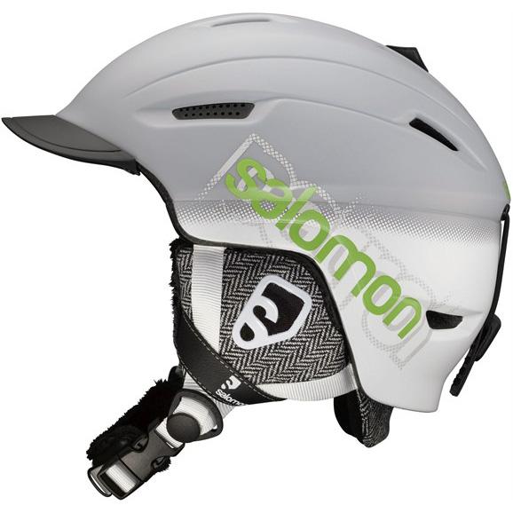 Lyžařská přilba SALOMON Patrol šedá - XXL (61-62)