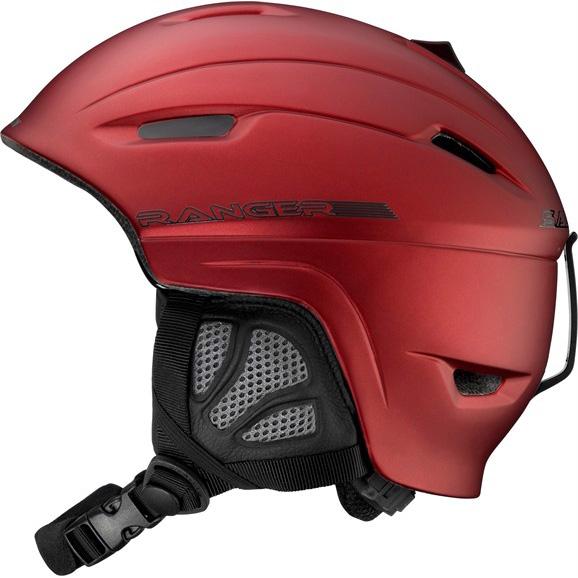 Lyžařská přilba SALOMON Ranger červená - XS-S (54-56)