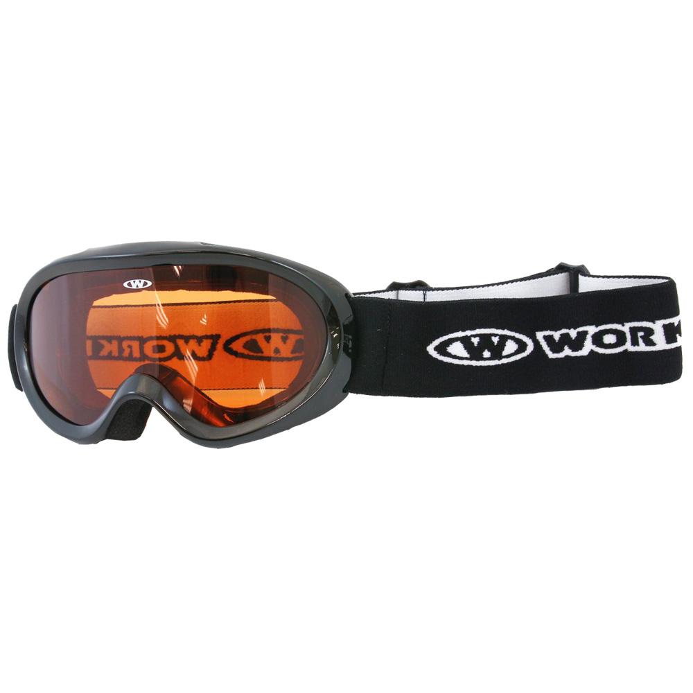 Junior lyžařské brýle WORKER Doyle černá