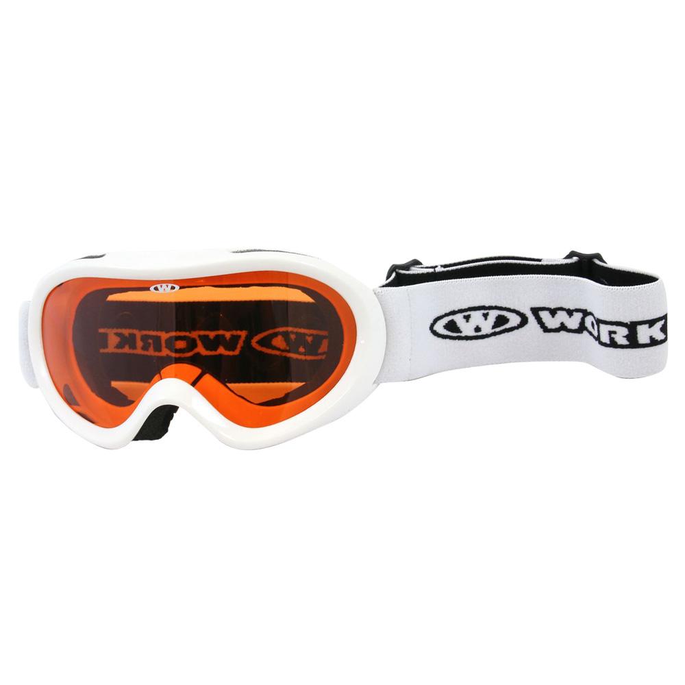Junior lyžařské brýle WORKER Doyle bílá