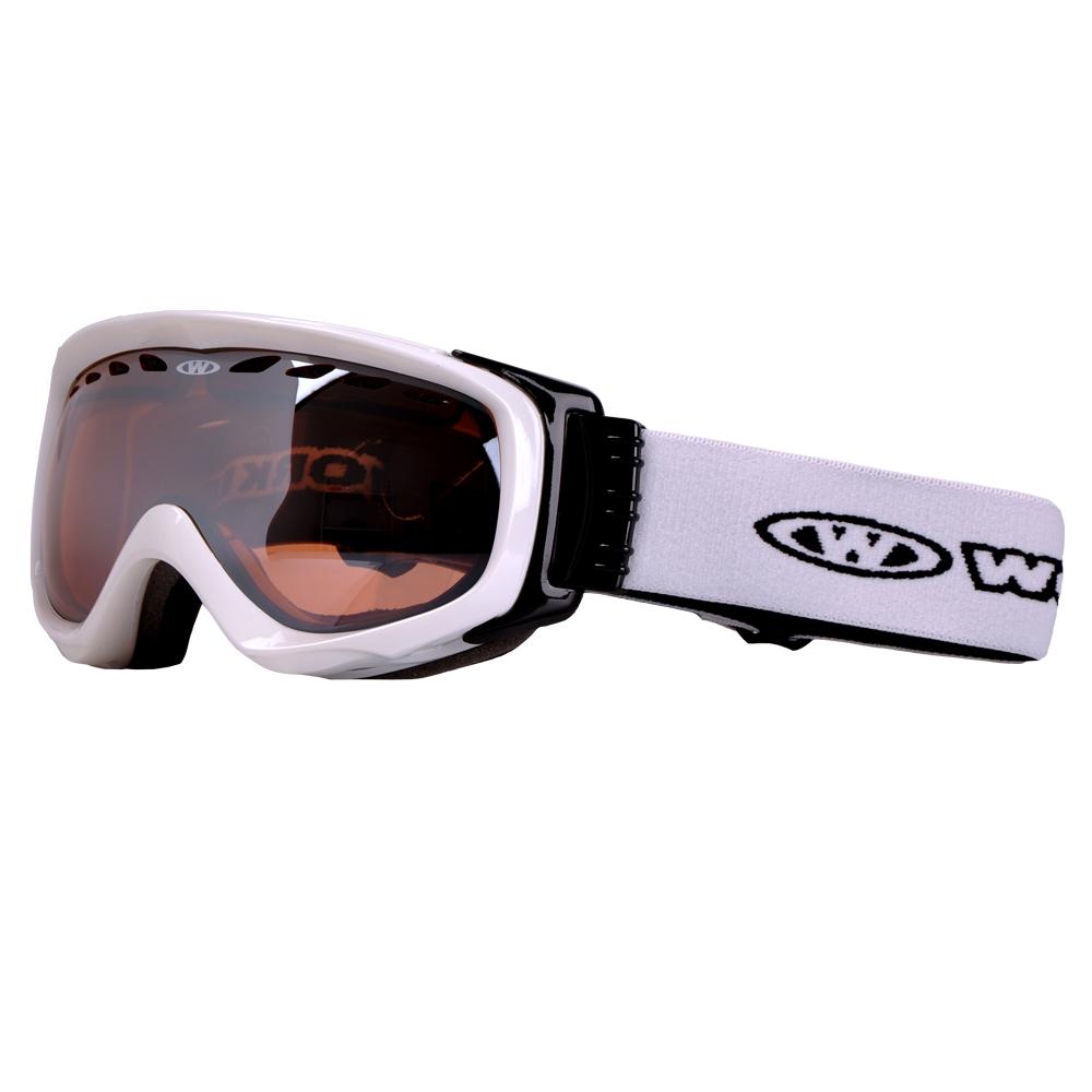 Lyžařské brýle WORKER Bennet bílá