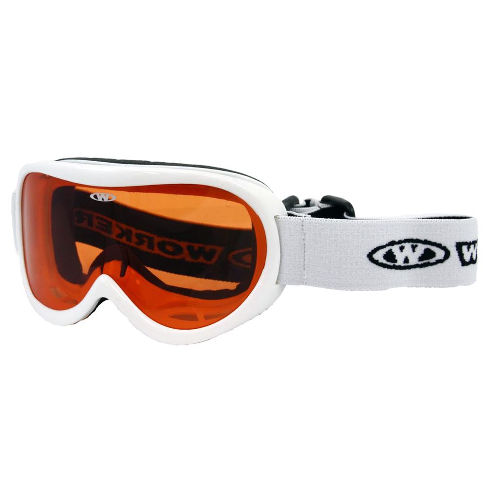 Dětské lyžařské brýle WORKER Miller WHT-bílá