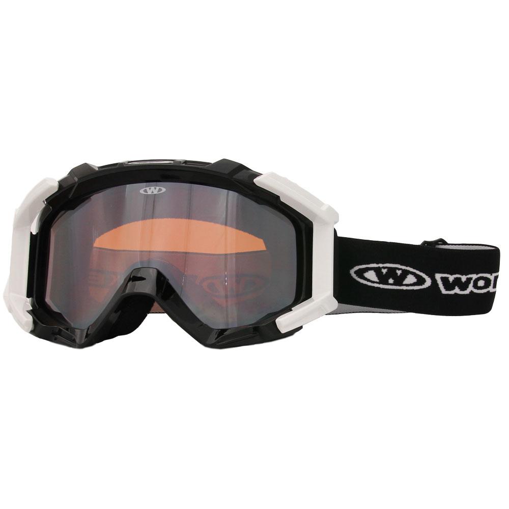 Lyžařské brýle WORKER Simon černá