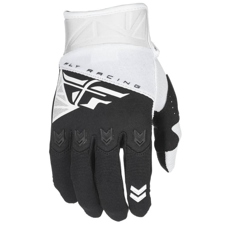 Motokrosové rukavice Fly Racing F-16 2018 bílo-černá - 2XL