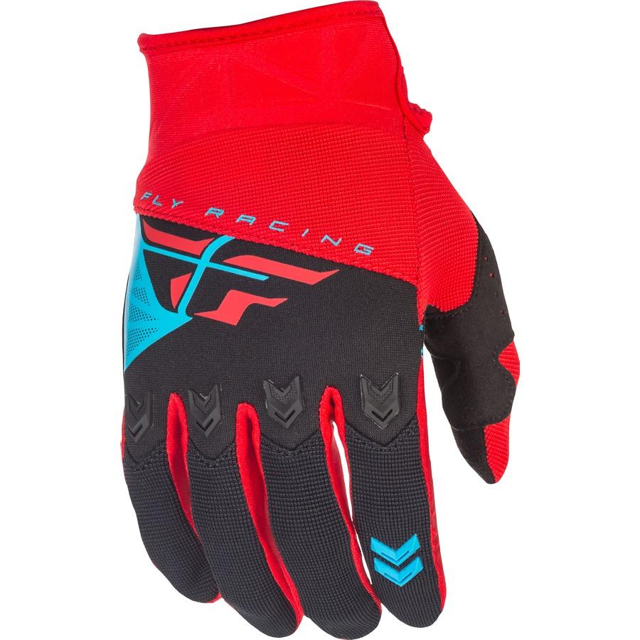 Motokrosové rukavice Fly Racing F-16 2018 - červeno-černá e7118c536c