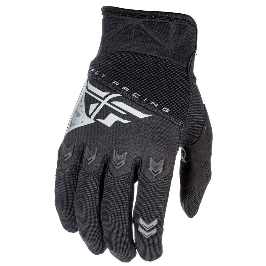 Motokrosové rukavice Fly Racing F-16 2018 černá - XS