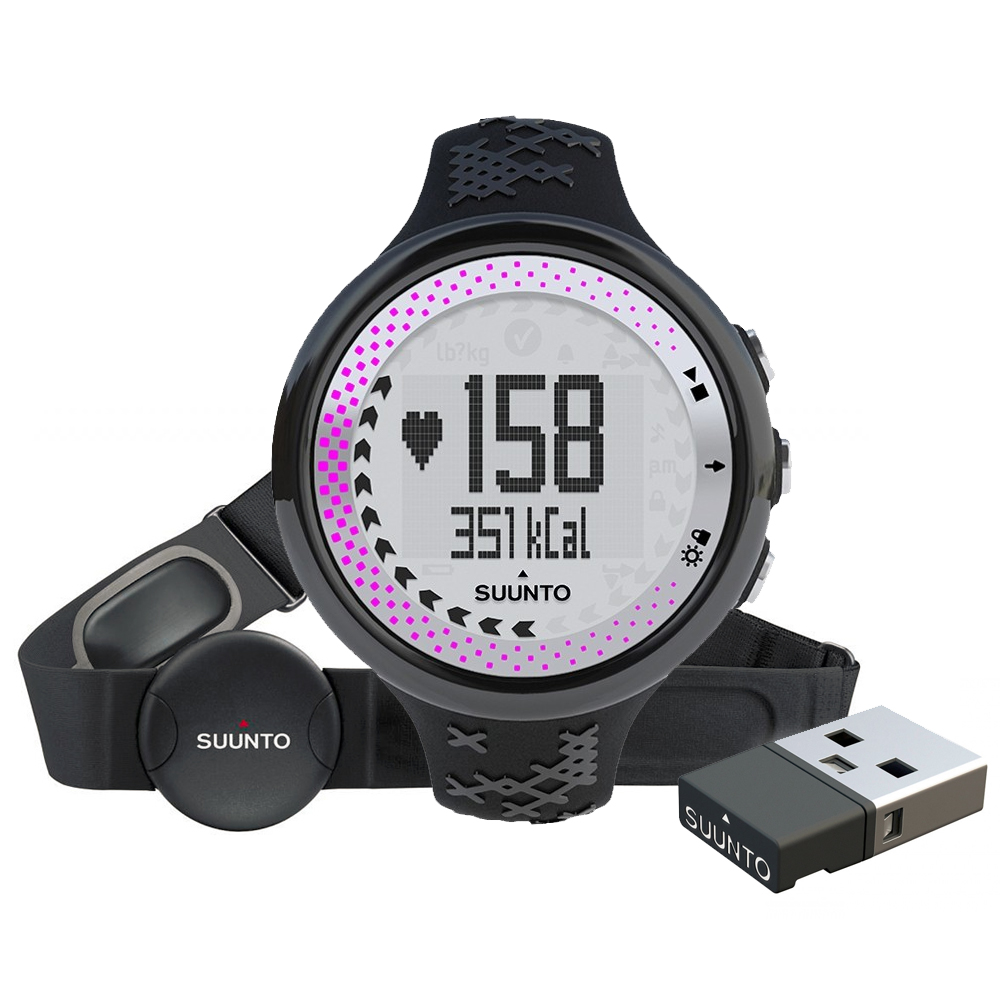 Sporttester Suunto M5 Women Black/Silver/Pink (+ M.MINI)