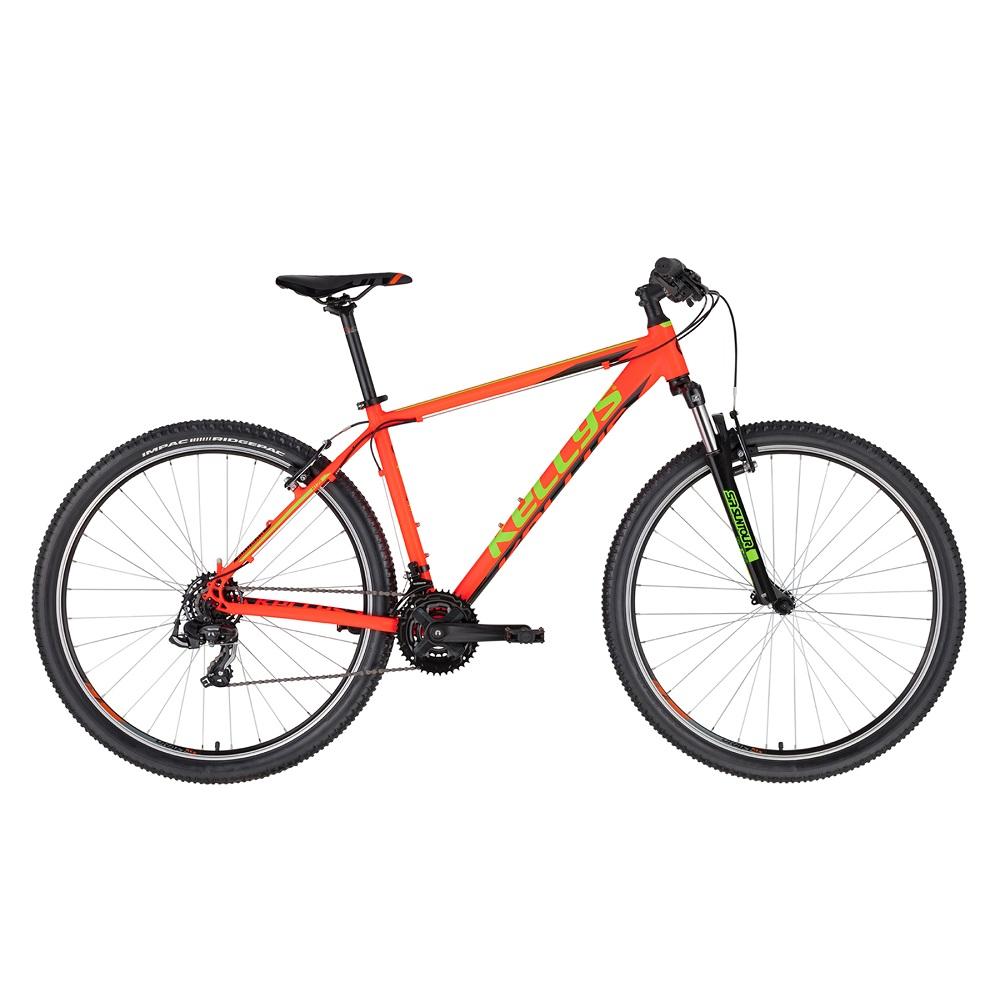 "Horské kolo KELLYS MADMAN 10 29"" - model 2020 Neon Orange - L (21'') - Záruka 10 let"