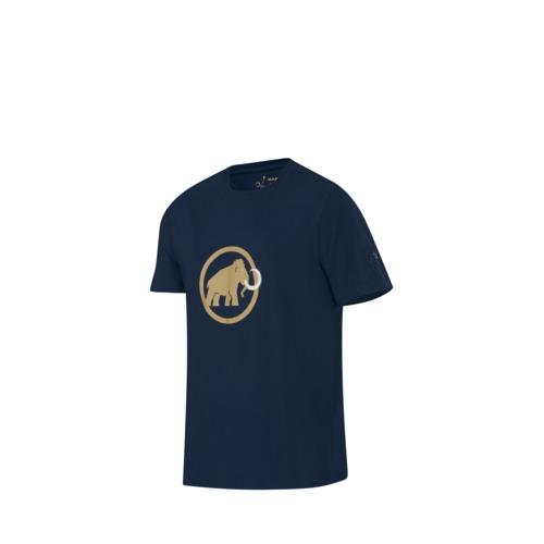 Pánské sportovní tričko MAMMUT - krátký rukáv modrá - XL