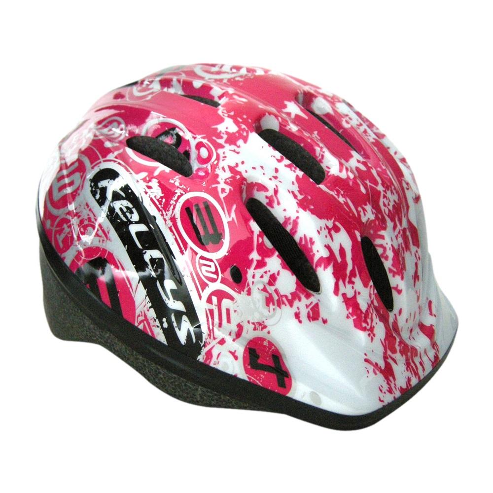 Dětská cyklo přilba KELLYS MARK Pink - XS/S