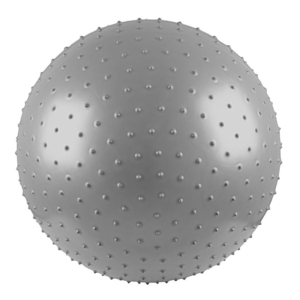 Gymnastický a masážní míč 55 cm šedá