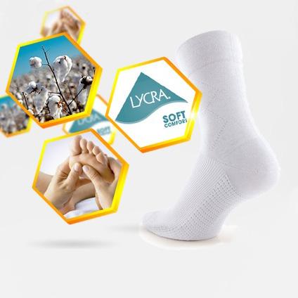 Masážní ponožky ASSISTANCE Soft Comfort černá - M (39-41)