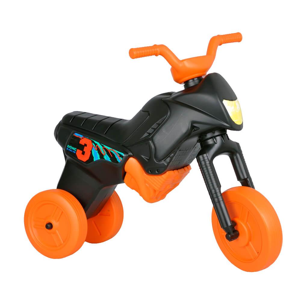 Odrážedlo Enduro Maxi černo-oranžová