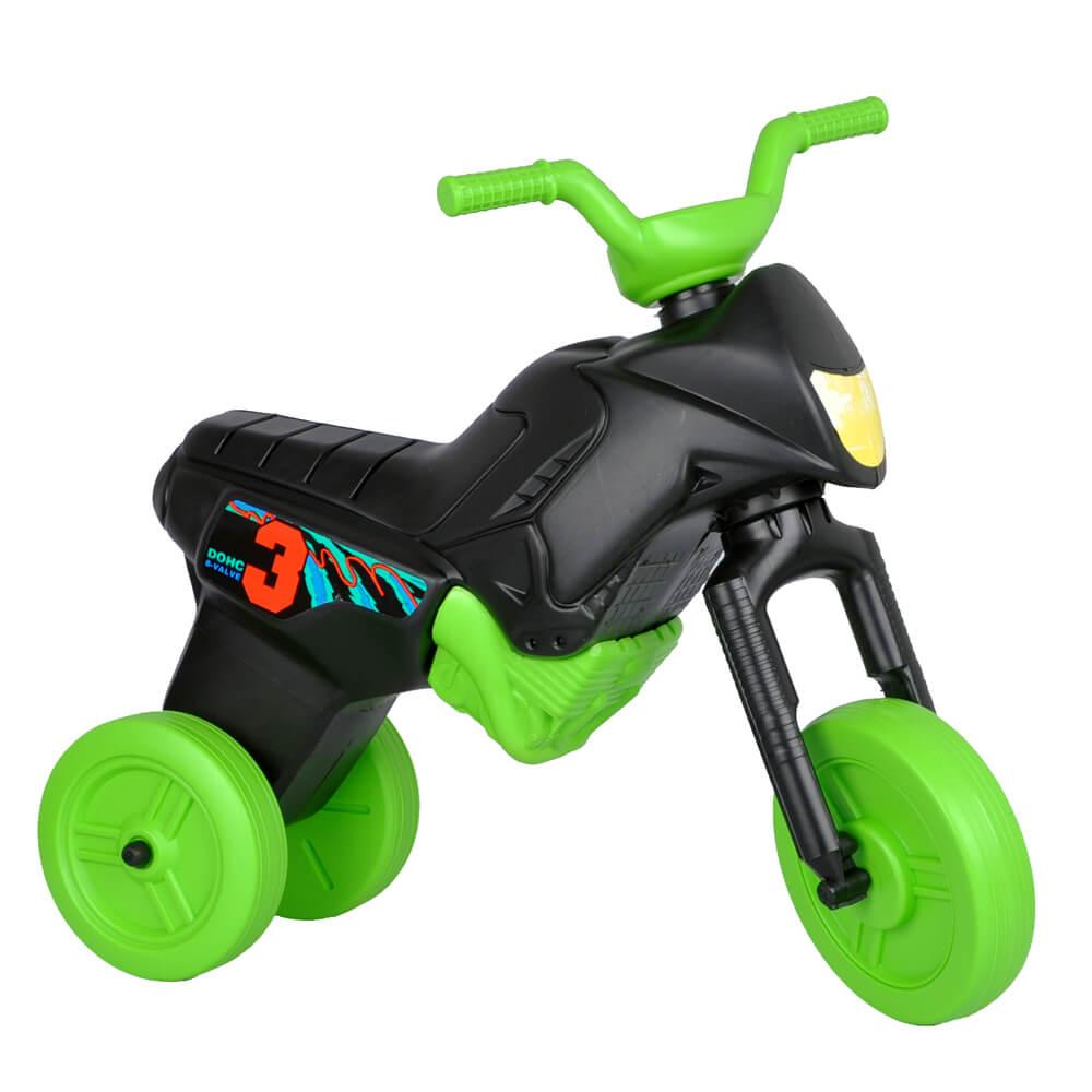 Odrážedlo Enduro Maxi černo-zelená