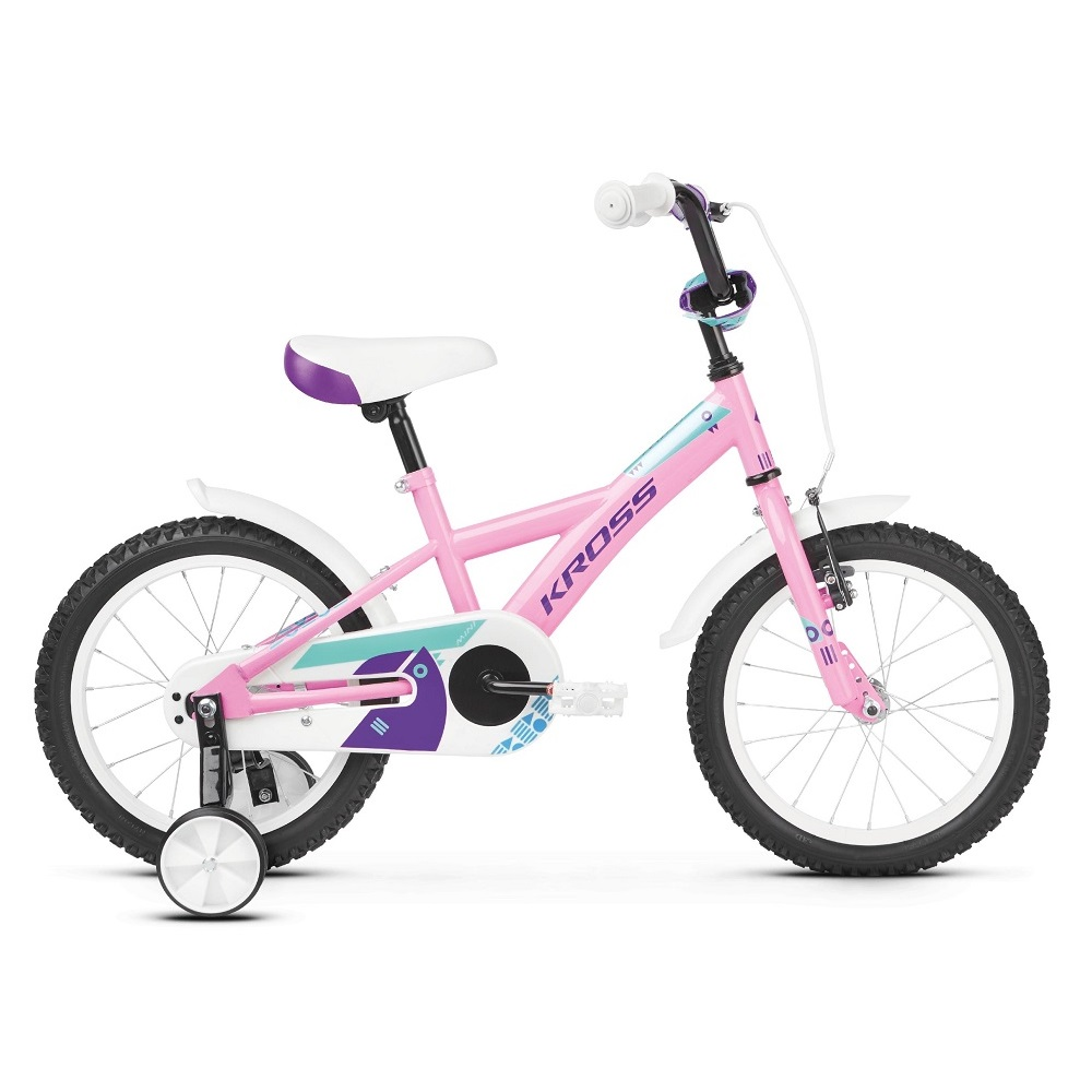 Kross Mini 30 16  model 2019 Pink  Violet  Turquoise Glossy