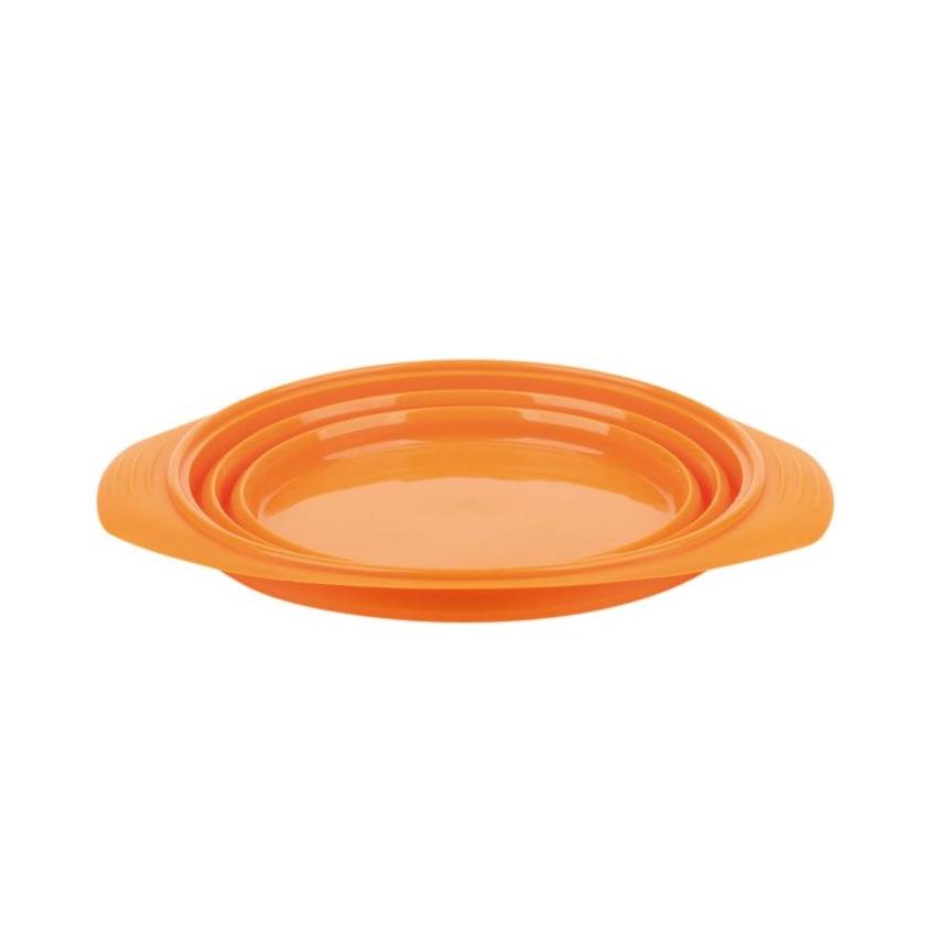 Skládací miska FERRINO Contenitore Pieghevole oranžová