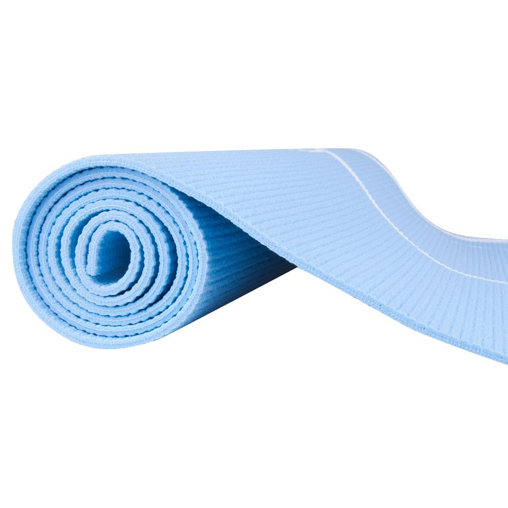 Karimatka Spartan Yoga 170x60x0,4 cm modrá