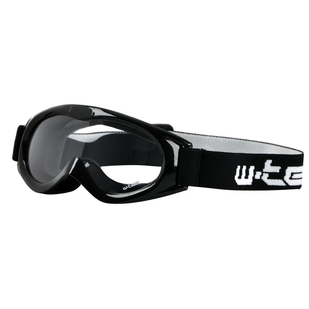Motokrosové brýle kids W-TEC Spooner černá