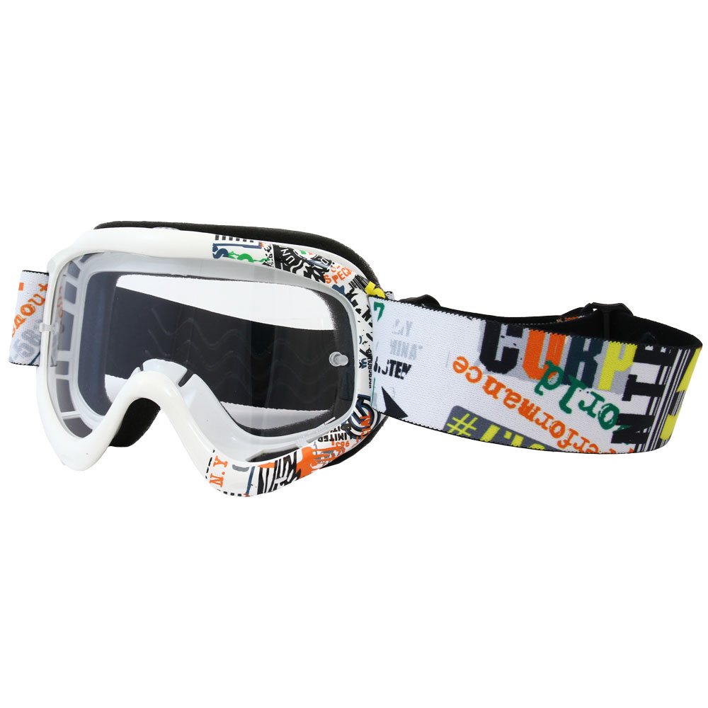 Motokrosové brýle junior W-TEC Benford s grafikou