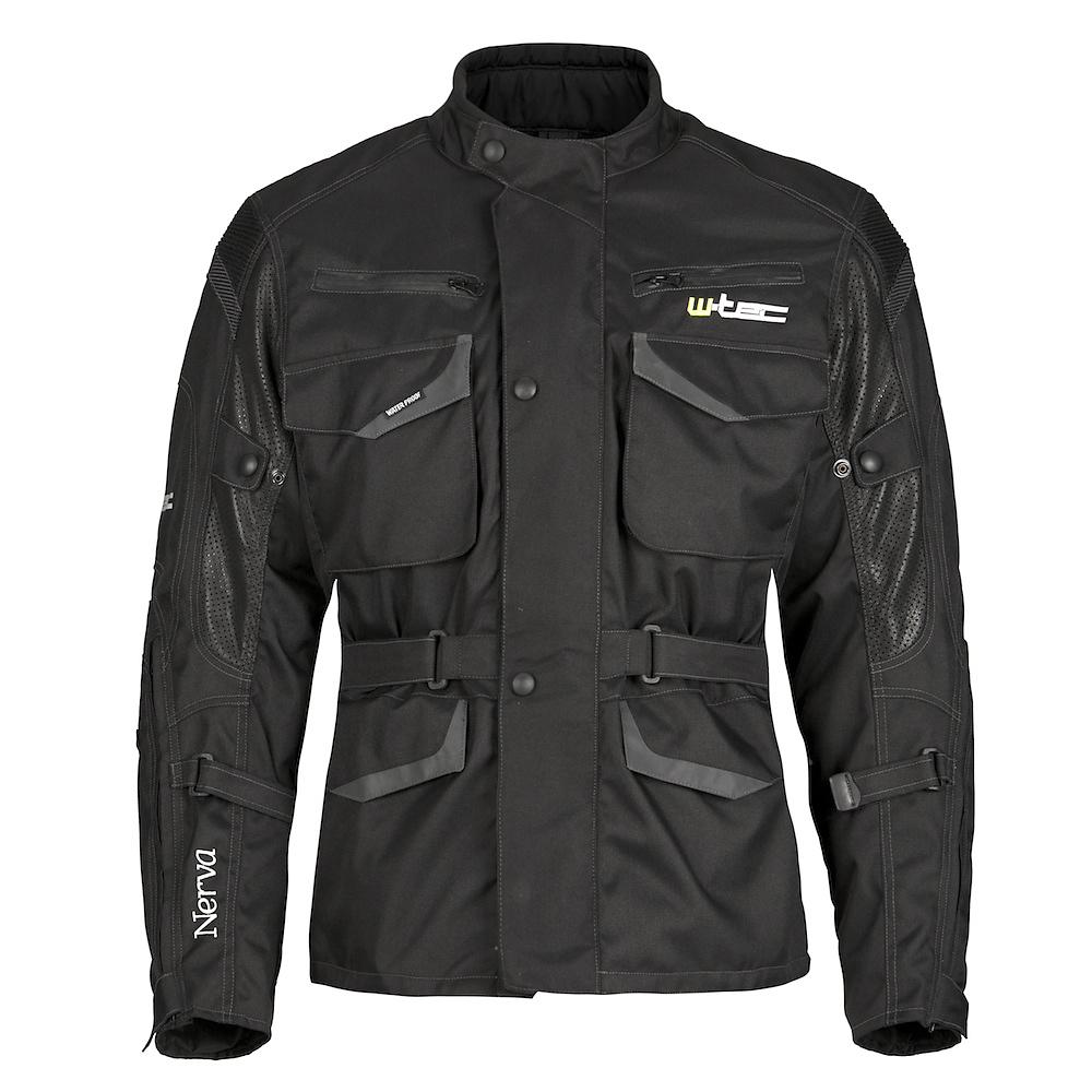 Moto bunda W-TEC Nerva černá - M