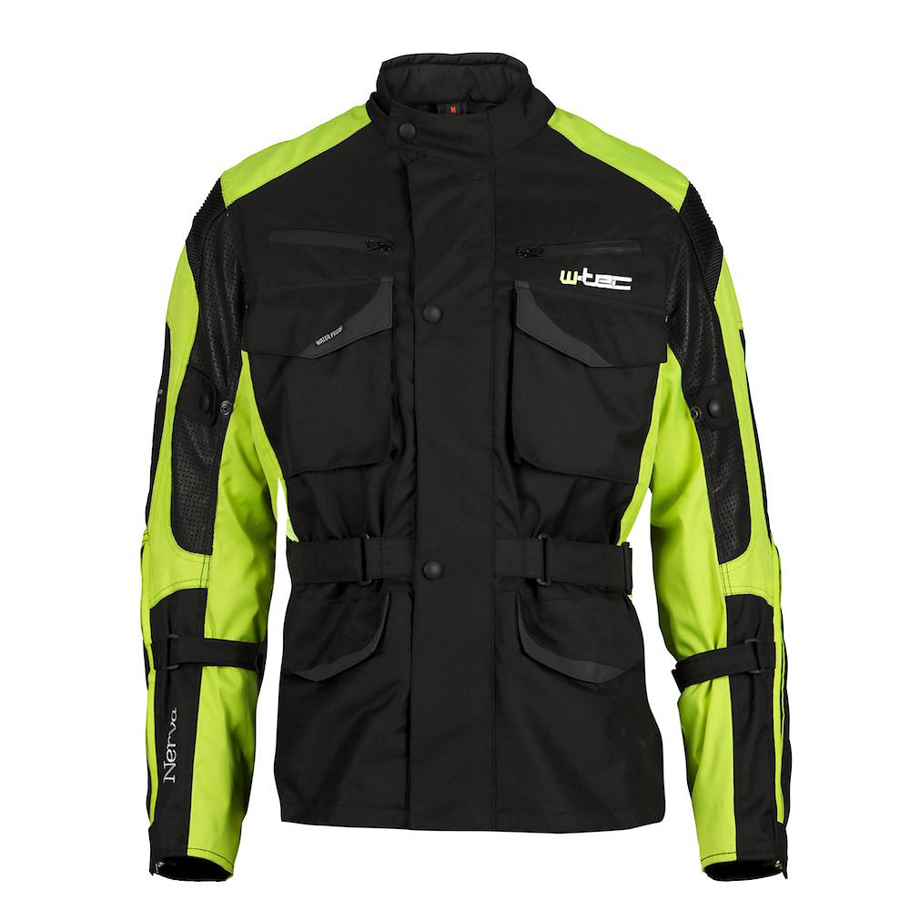 Moto bunda W-TEC Nerva zelená - S
