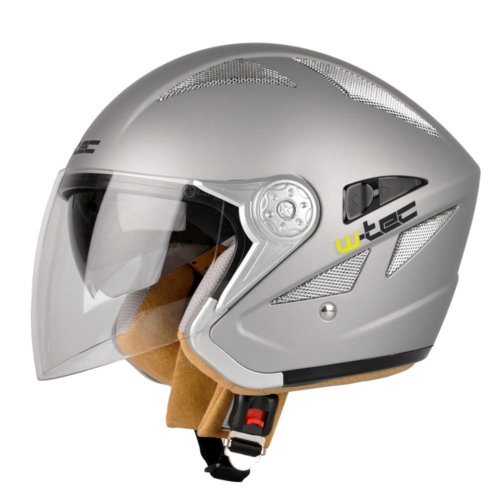 Moto helma W-TEC V529 šedá - XL (61-62)
