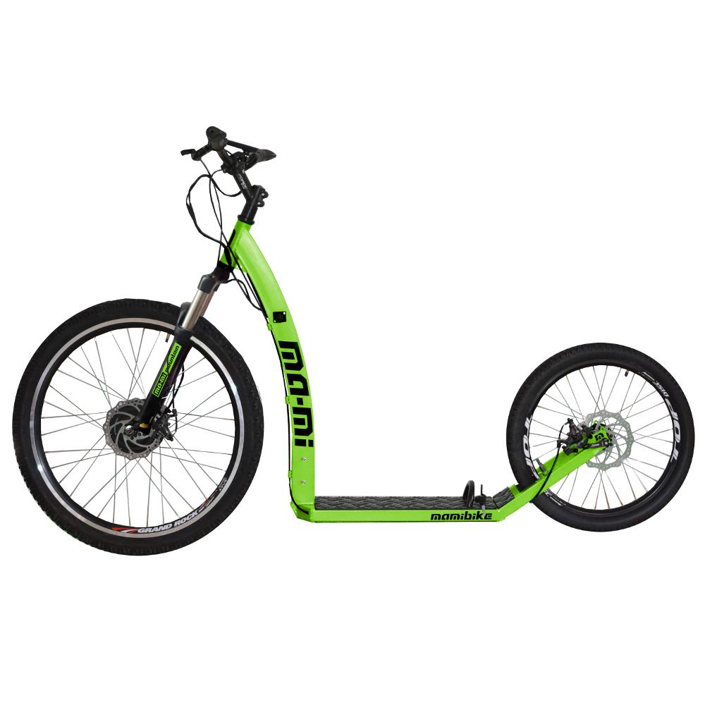 Elektrokoloběžka MA-MI MOUNTAIN s rychlonabíječkou zelená
